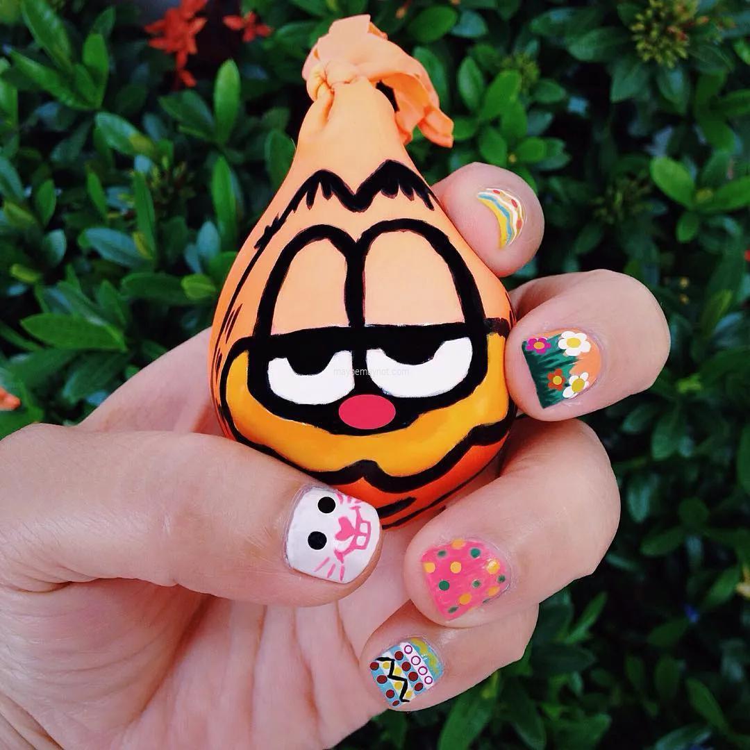 nail-art dazzling-nail