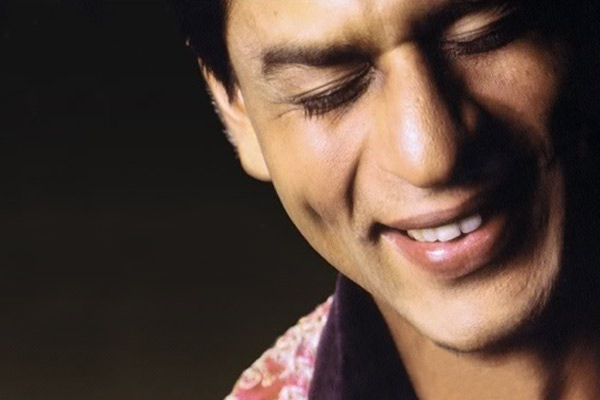 Image result for shahrukh khan dimple smile
